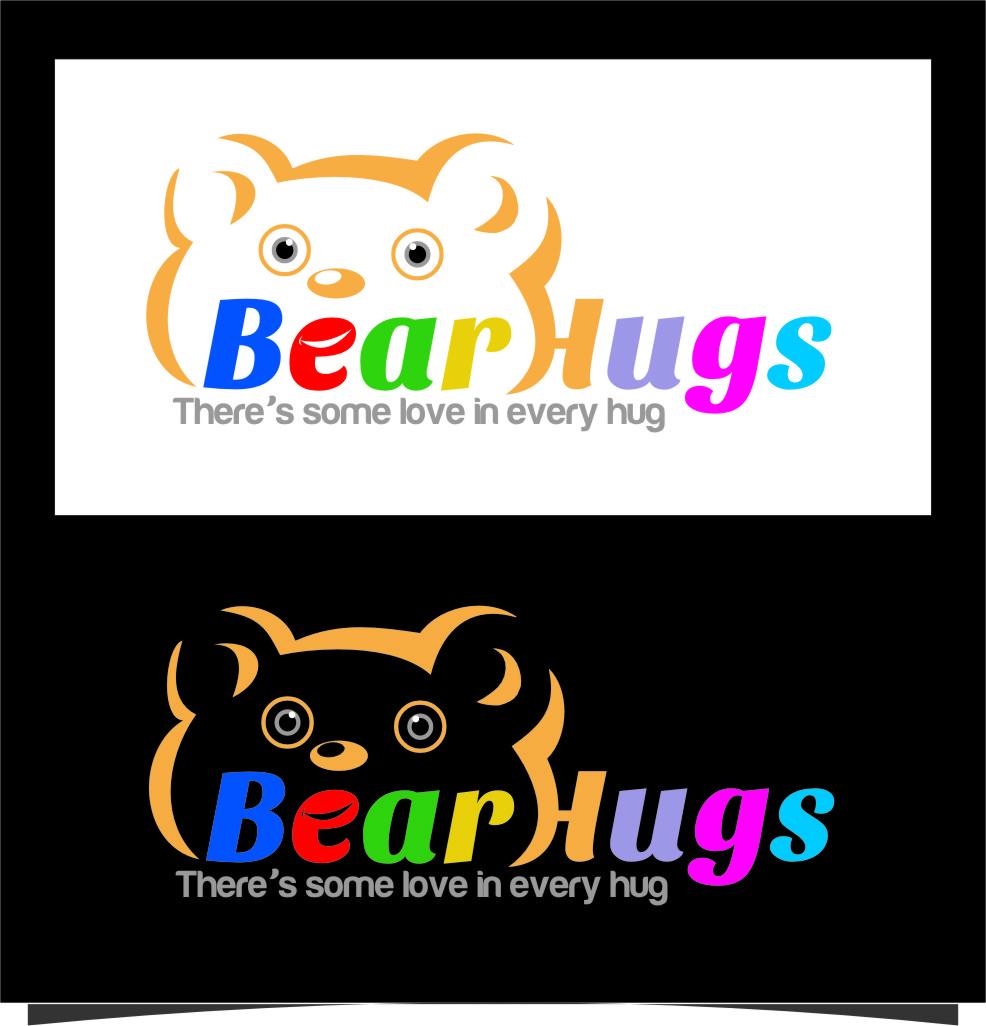 Logo Design by RoSyid Rono-Rene On Java - Entry No. 20 in the Logo Design Contest Inspiring Logo Design for BearHugs.