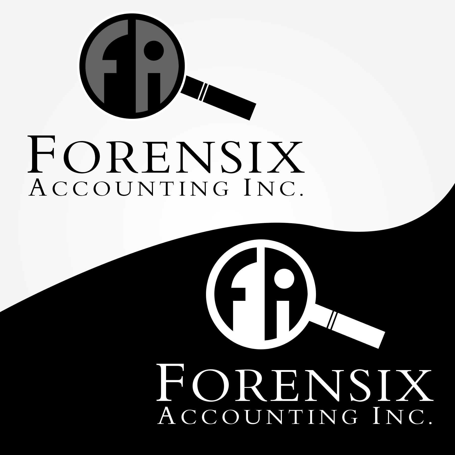Logo Design by Lemuel Arvin Tanzo - Entry No. 32 in the Logo Design Contest FORENSIX ACCOUNTING INC. Logo Design.