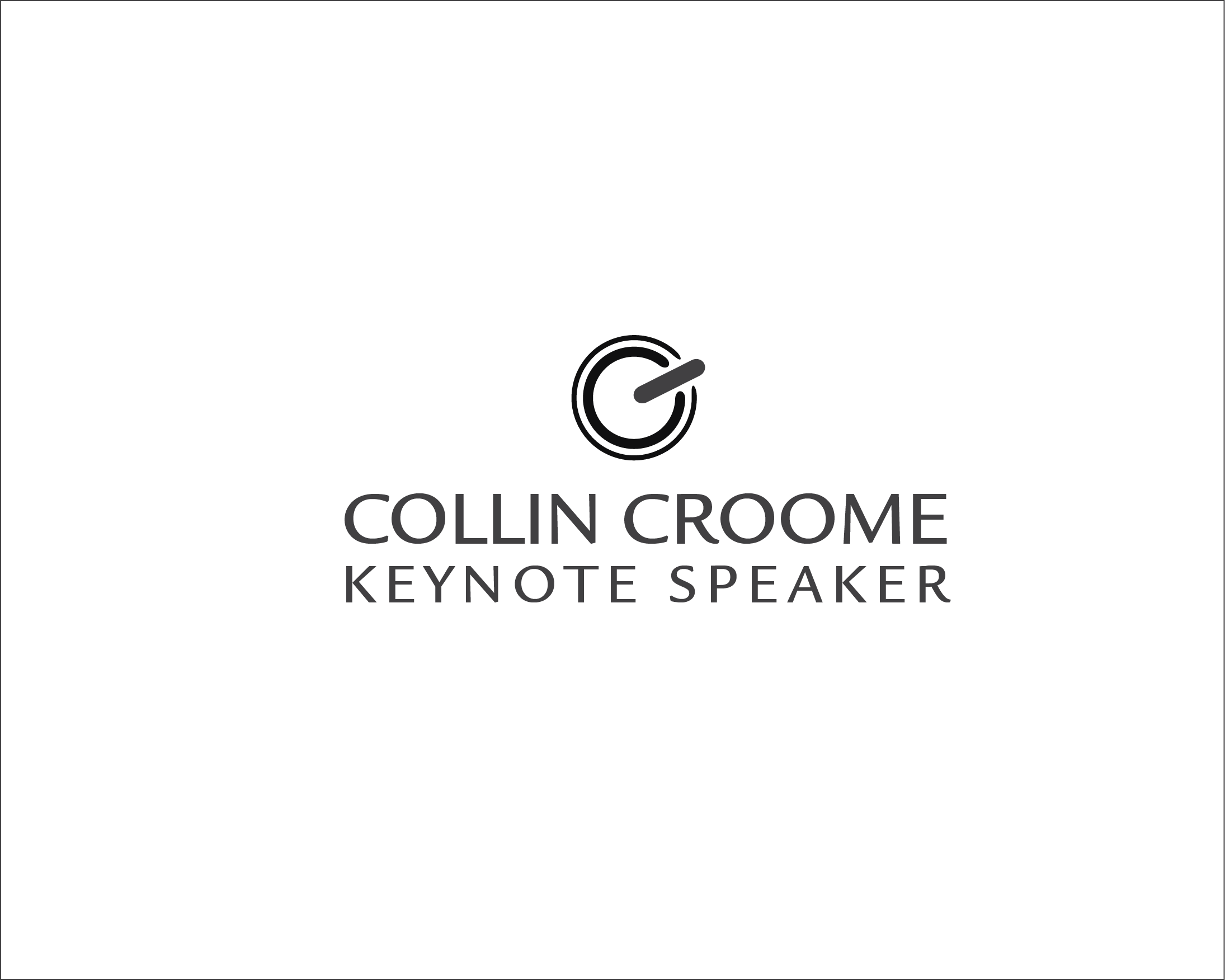 Logo Design by iwyn - Entry No. 206 in the Logo Design Contest Modern Logo Design for Collin Croome.