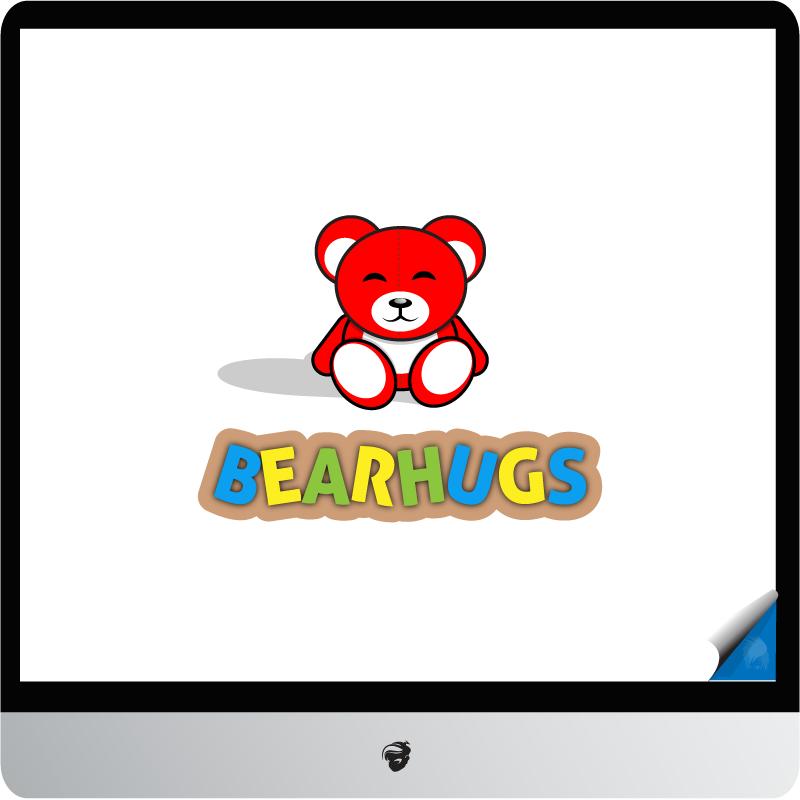 Logo Design by zesthar - Entry No. 22 in the Logo Design Contest Inspiring Logo Design for BearHugs.