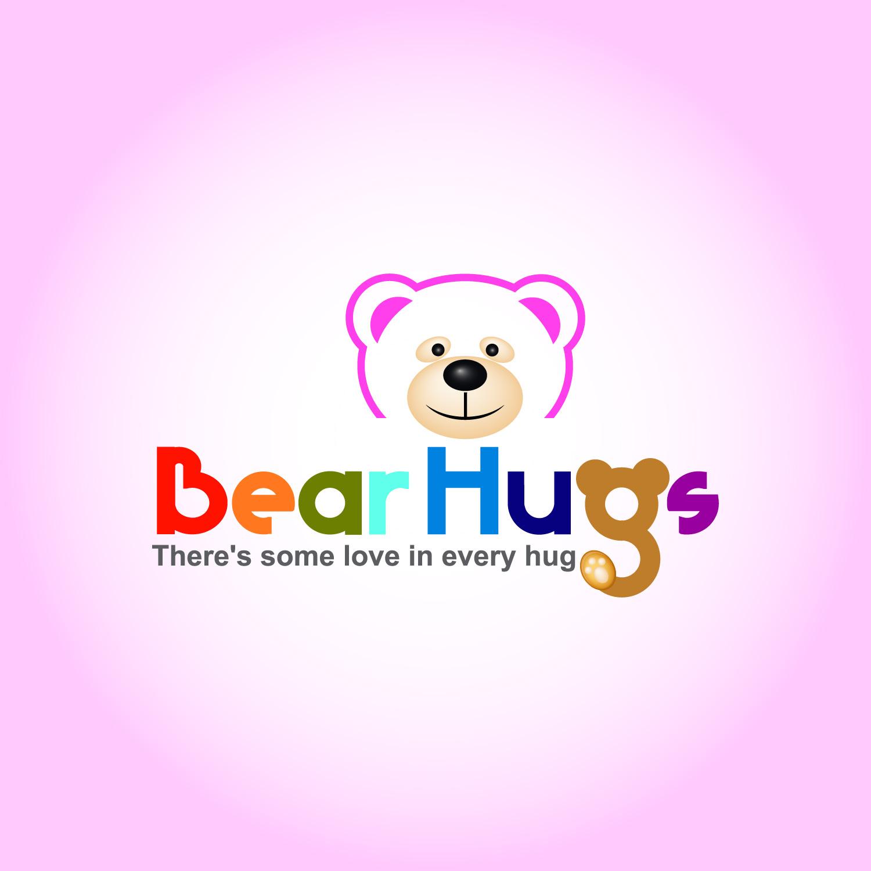 Logo Design by lagalag - Entry No. 25 in the Logo Design Contest Inspiring Logo Design for BearHugs.