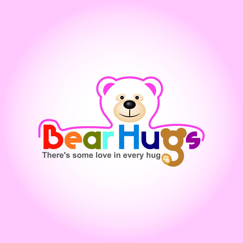 Logo Design by lagalag - Entry No. 26 in the Logo Design Contest Inspiring Logo Design for BearHugs.