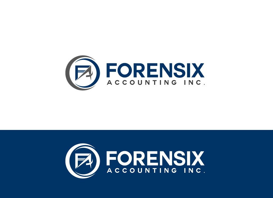 Logo Design by pixdesign - Entry No. 35 in the Logo Design Contest FORENSIX ACCOUNTING INC. Logo Design.