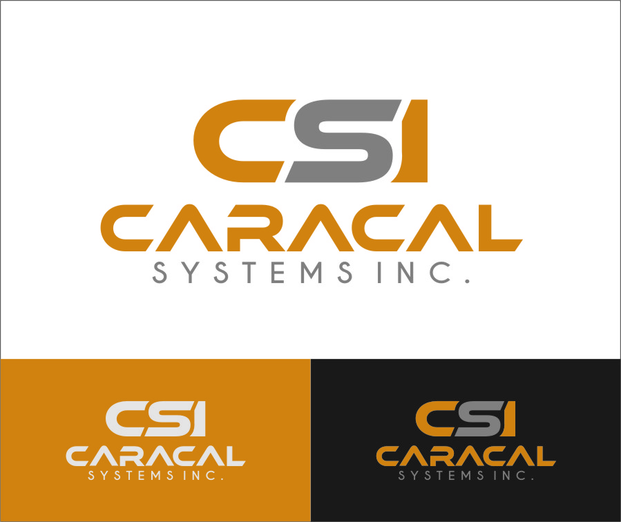 Logo Design by RasYa Muhammad Athaya - Entry No. 57 in the Logo Design Contest Inspiring Logo Design for Caracal Systems Inc..
