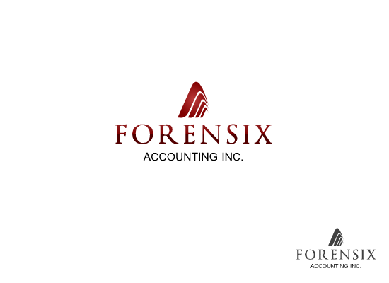 Logo Design by Tathastu Sharma - Entry No. 37 in the Logo Design Contest FORENSIX ACCOUNTING INC. Logo Design.