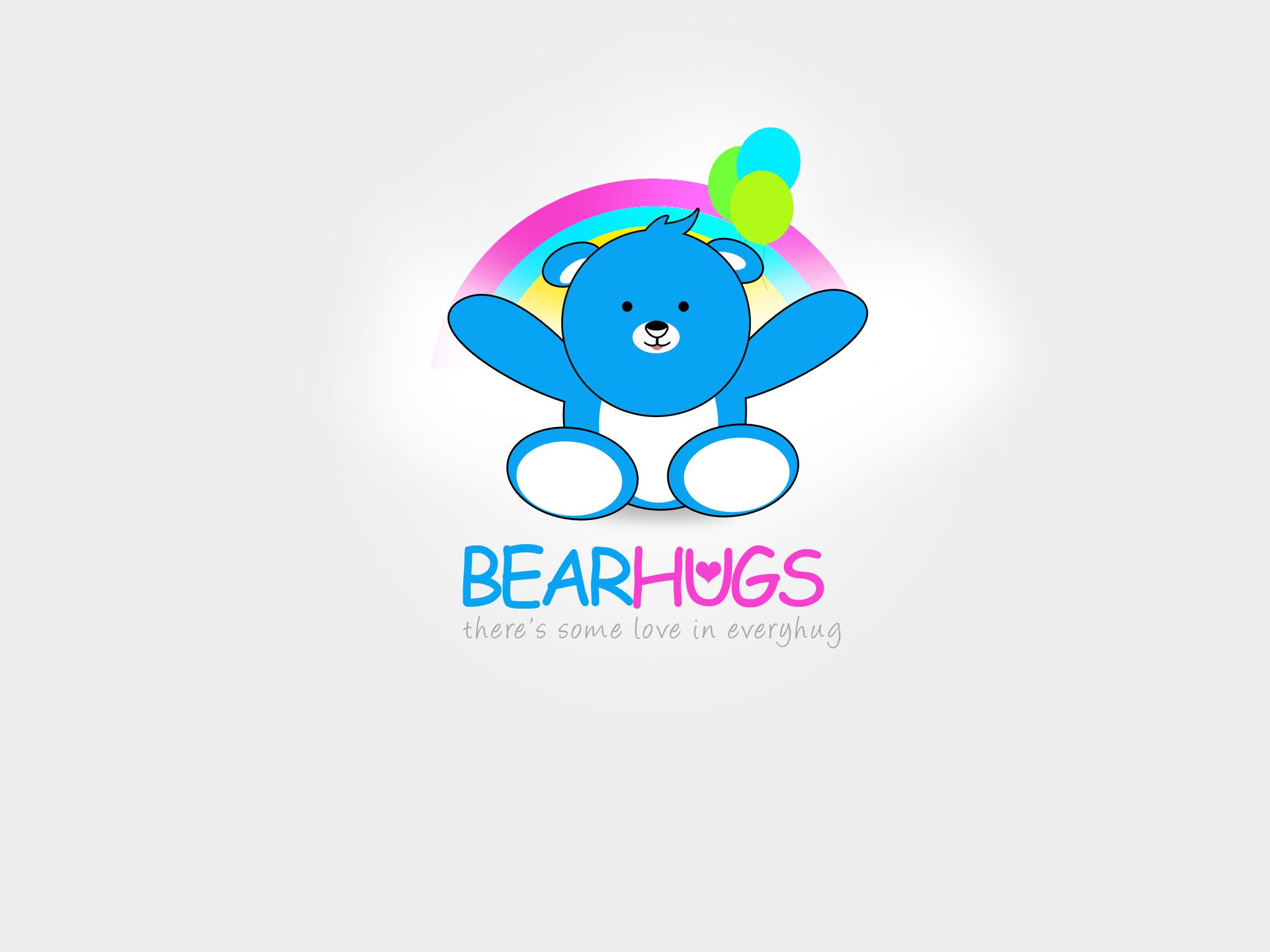 Logo Design by Jan Chua - Entry No. 28 in the Logo Design Contest Inspiring Logo Design for BearHugs.