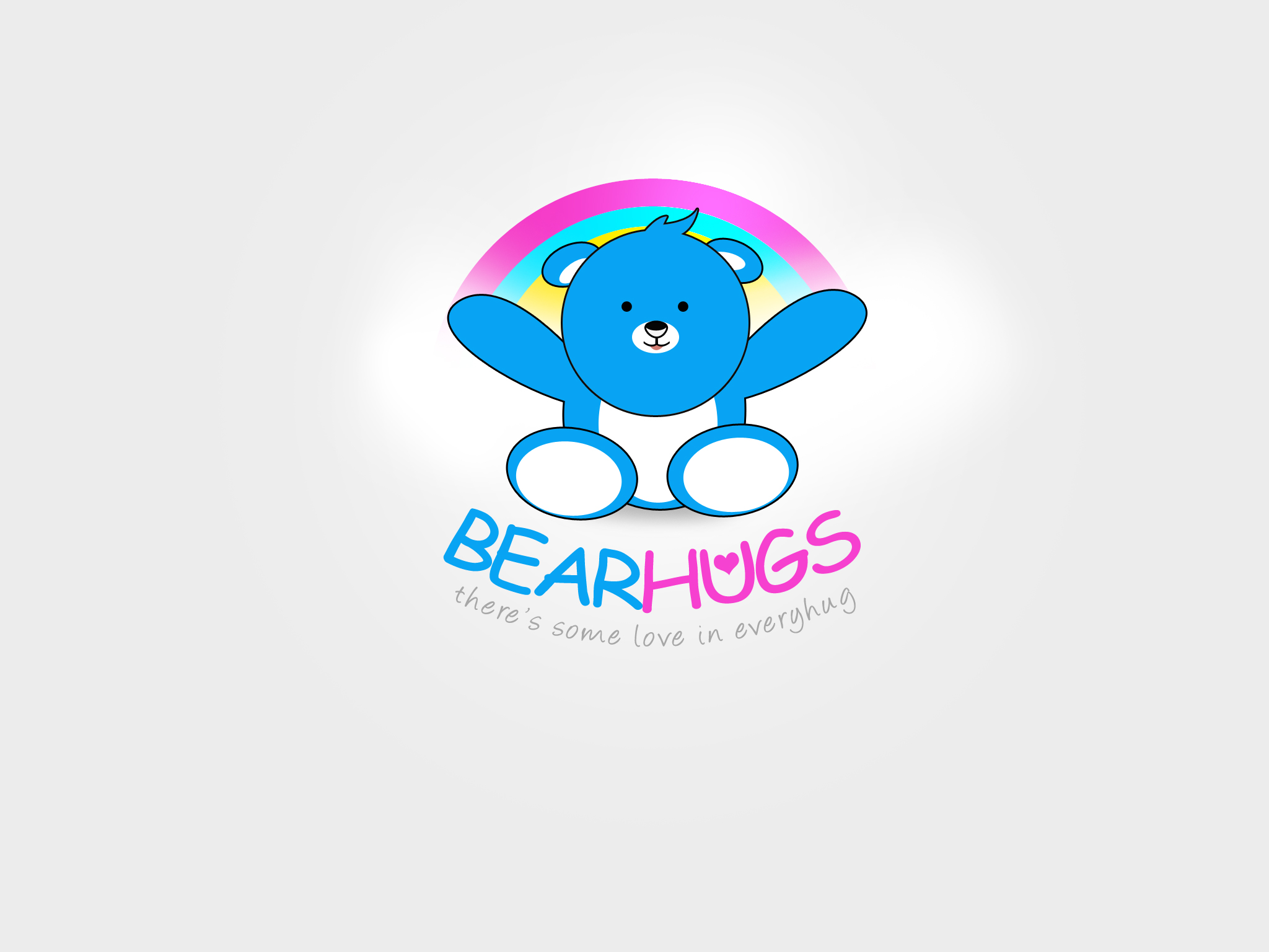 Logo Design by Jan Chua - Entry No. 29 in the Logo Design Contest Inspiring Logo Design for BearHugs.