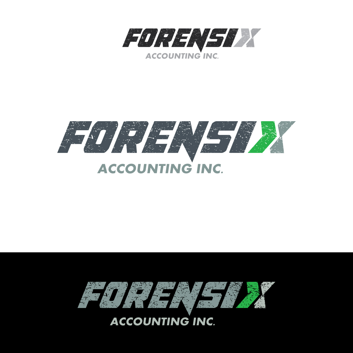 Logo Design by danelav - Entry No. 39 in the Logo Design Contest FORENSIX ACCOUNTING INC. Logo Design.