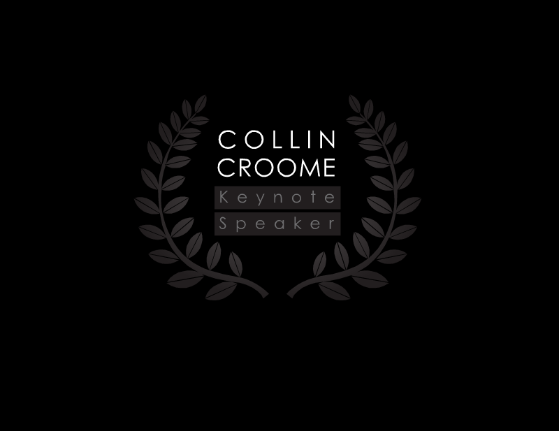 Logo Design by Tathastu Sharma - Entry No. 228 in the Logo Design Contest Modern Logo Design for Collin Croome.
