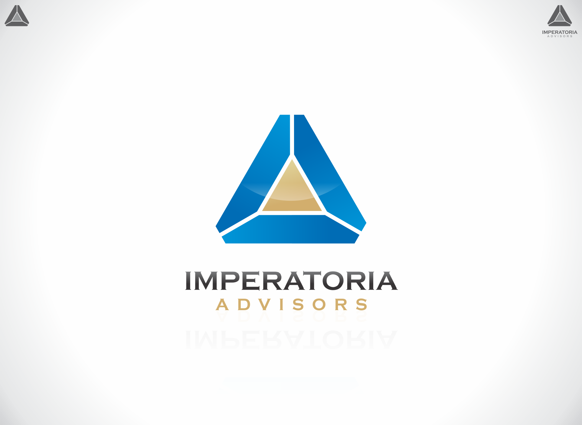 Logo Design by dandor - Entry No. 47 in the Logo Design Contest Unique Logo Design Wanted for Imperatoria Advisors.