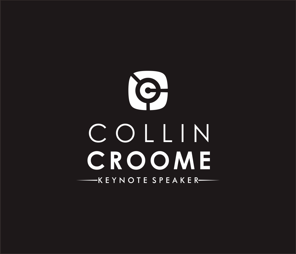 Logo Design by Armada Jamaluddin - Entry No. 243 in the Logo Design Contest Modern Logo Design for Collin Croome.