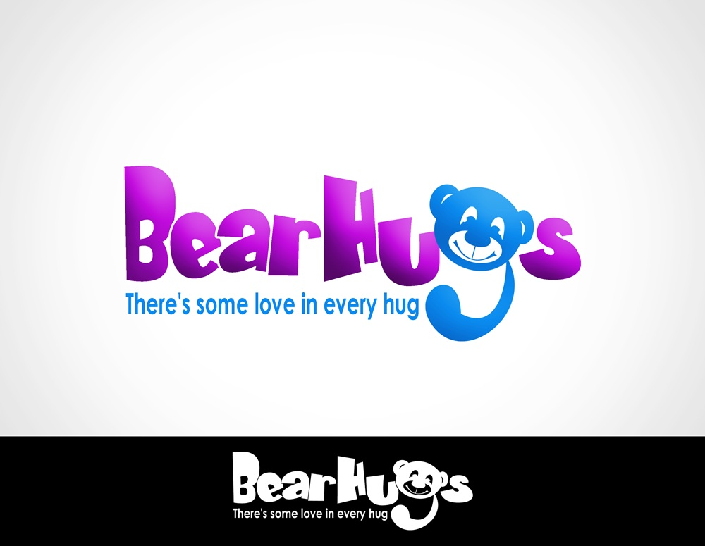 Logo Design by Respati Himawan - Entry No. 35 in the Logo Design Contest Inspiring Logo Design for BearHugs.