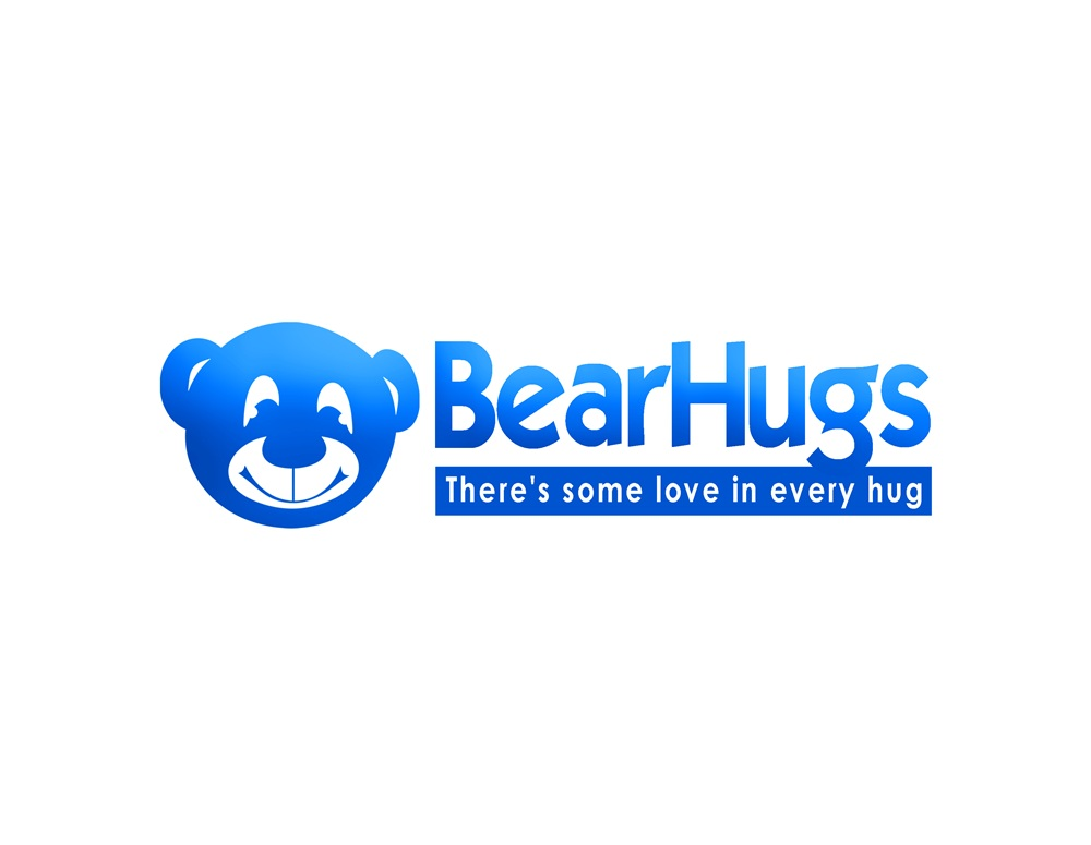 Logo Design by Respati Himawan - Entry No. 39 in the Logo Design Contest Inspiring Logo Design for BearHugs.