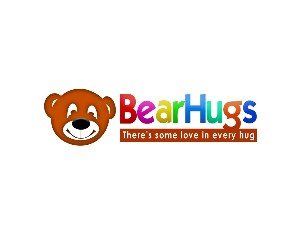 Logo Design by Respati Himawan - Entry No. 43 in the Logo Design Contest Inspiring Logo Design for BearHugs.
