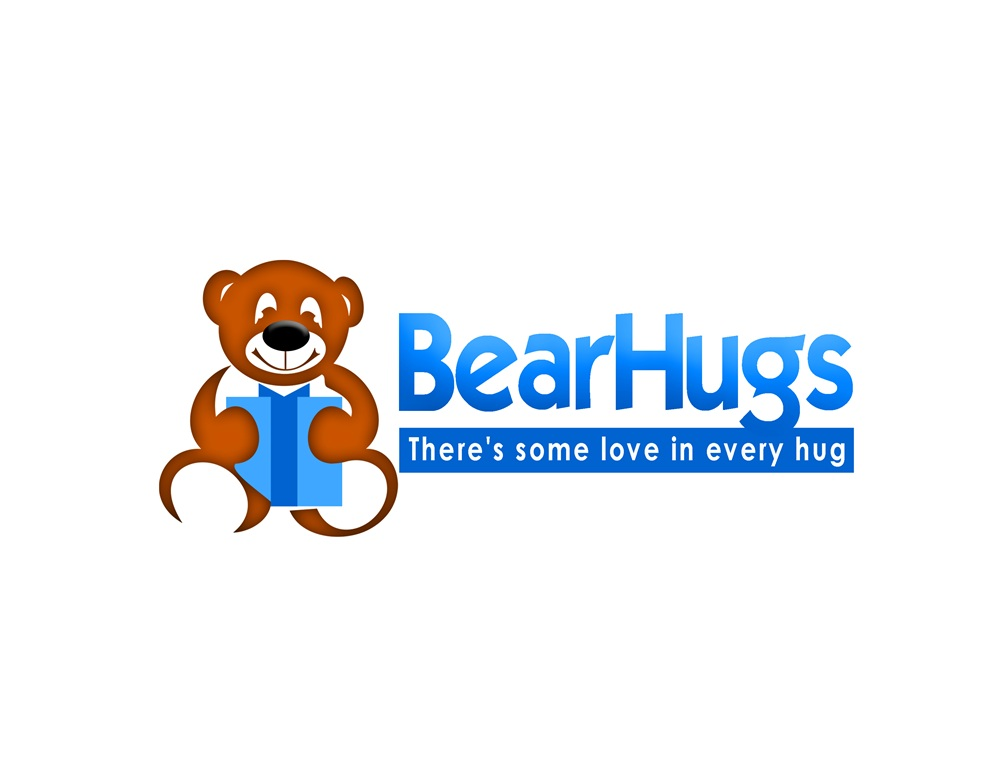 Logo Design by Respati Himawan - Entry No. 44 in the Logo Design Contest Inspiring Logo Design for BearHugs.