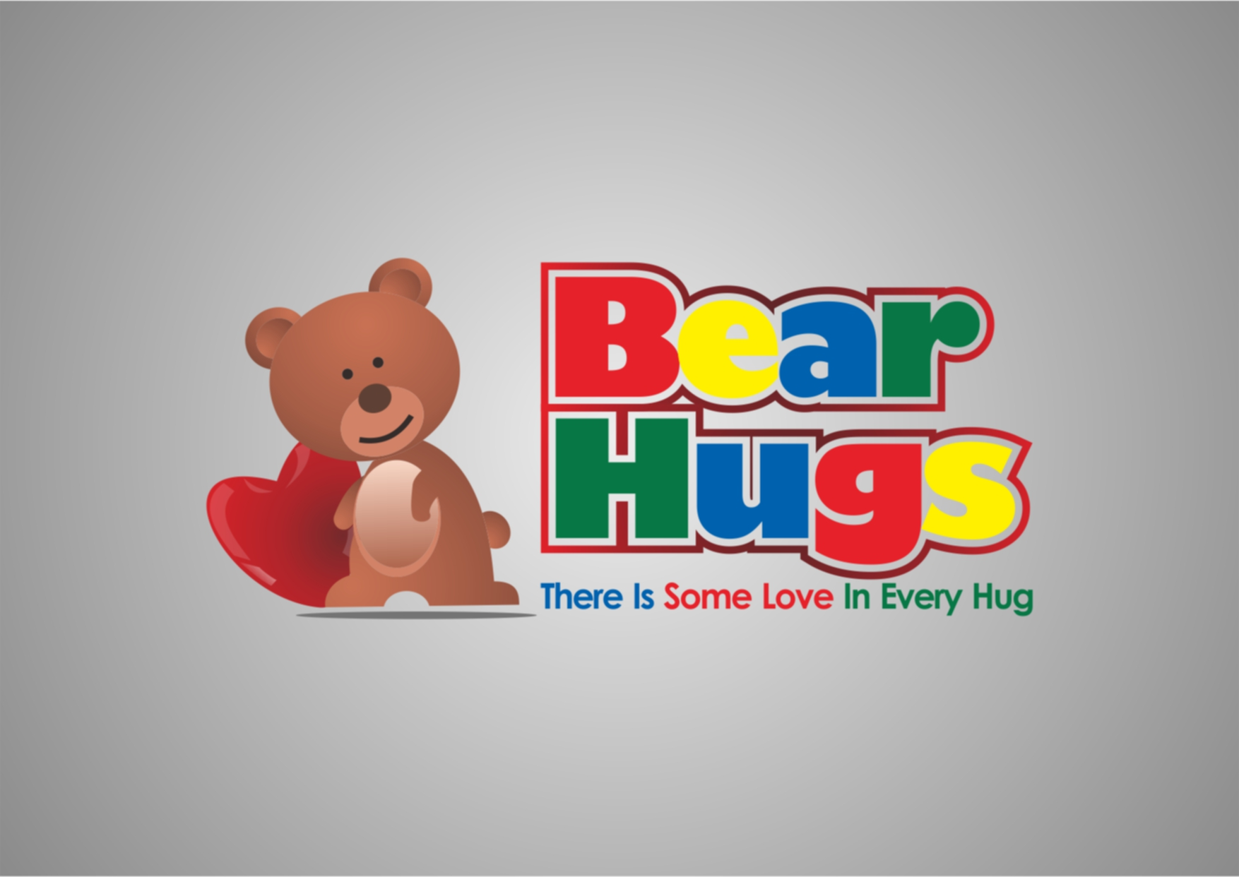 Logo Design by Private User - Entry No. 45 in the Logo Design Contest Inspiring Logo Design for BearHugs.