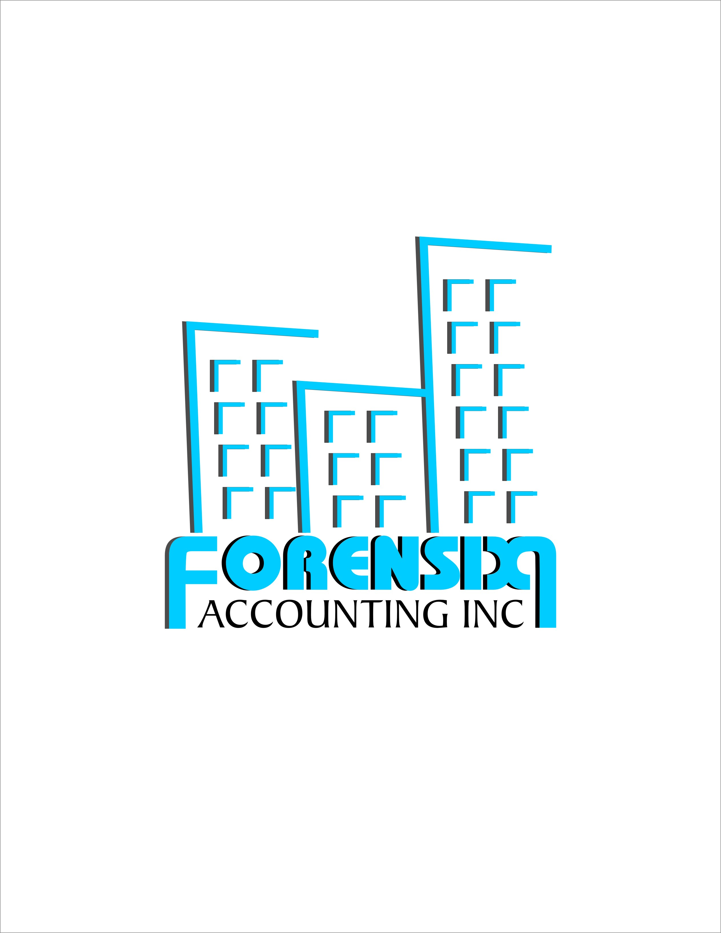 Logo Design by Achmad Ismail - Entry No. 41 in the Logo Design Contest FORENSIX ACCOUNTING INC. Logo Design.