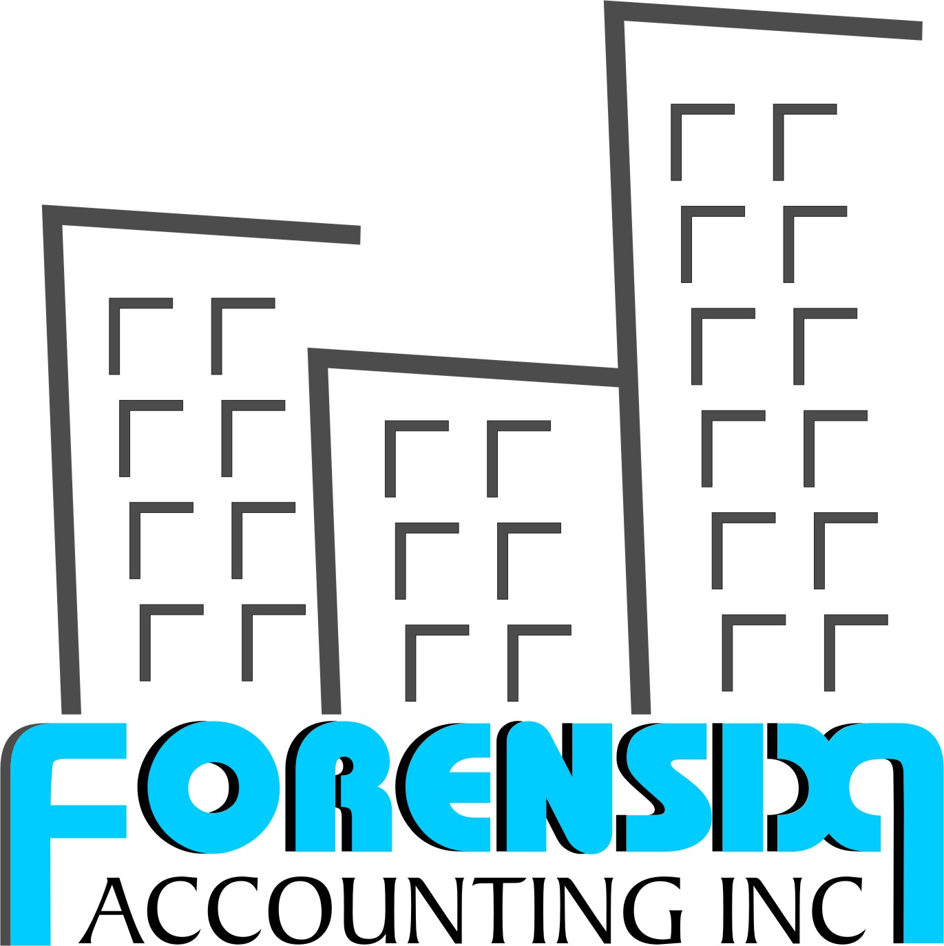 Logo Design by Achmad Ismail - Entry No. 42 in the Logo Design Contest FORENSIX ACCOUNTING INC. Logo Design.