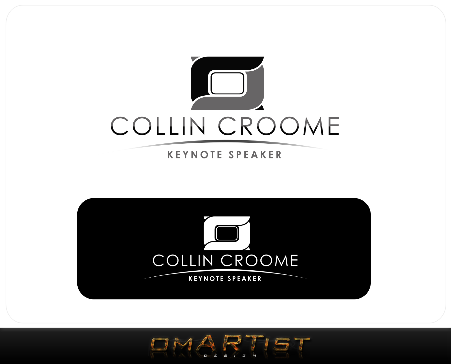 Logo Design by omARTist - Entry No. 256 in the Logo Design Contest Modern Logo Design for Collin Croome.