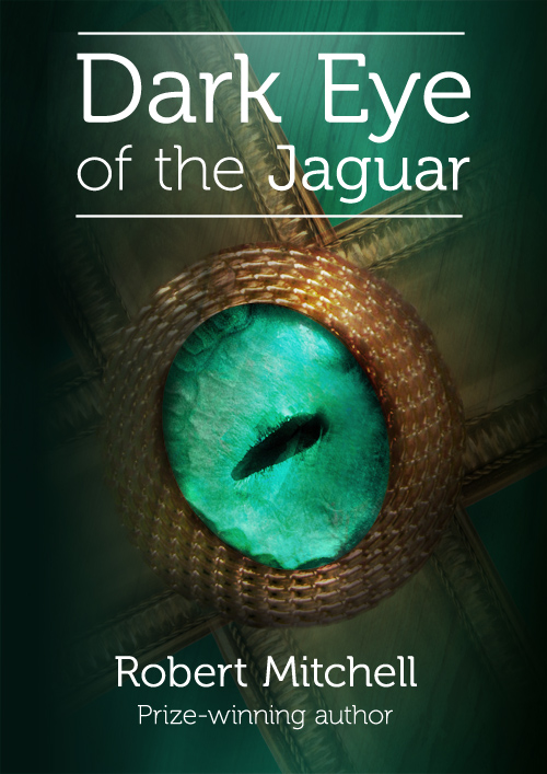 Book Cover Design by mungom - Entry No. 61 in the Book Cover Design Contest Imaginative Book Cover Design for Dark Eye of the Jaguar.