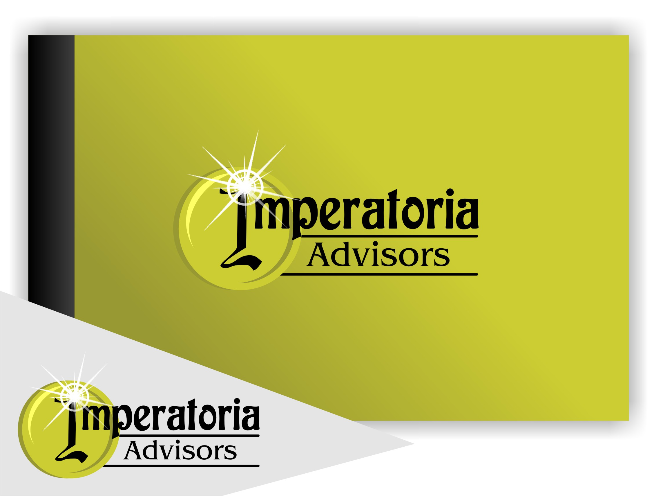 Logo Design by Achmad Ismail - Entry No. 57 in the Logo Design Contest Unique Logo Design Wanted for Imperatoria Advisors.