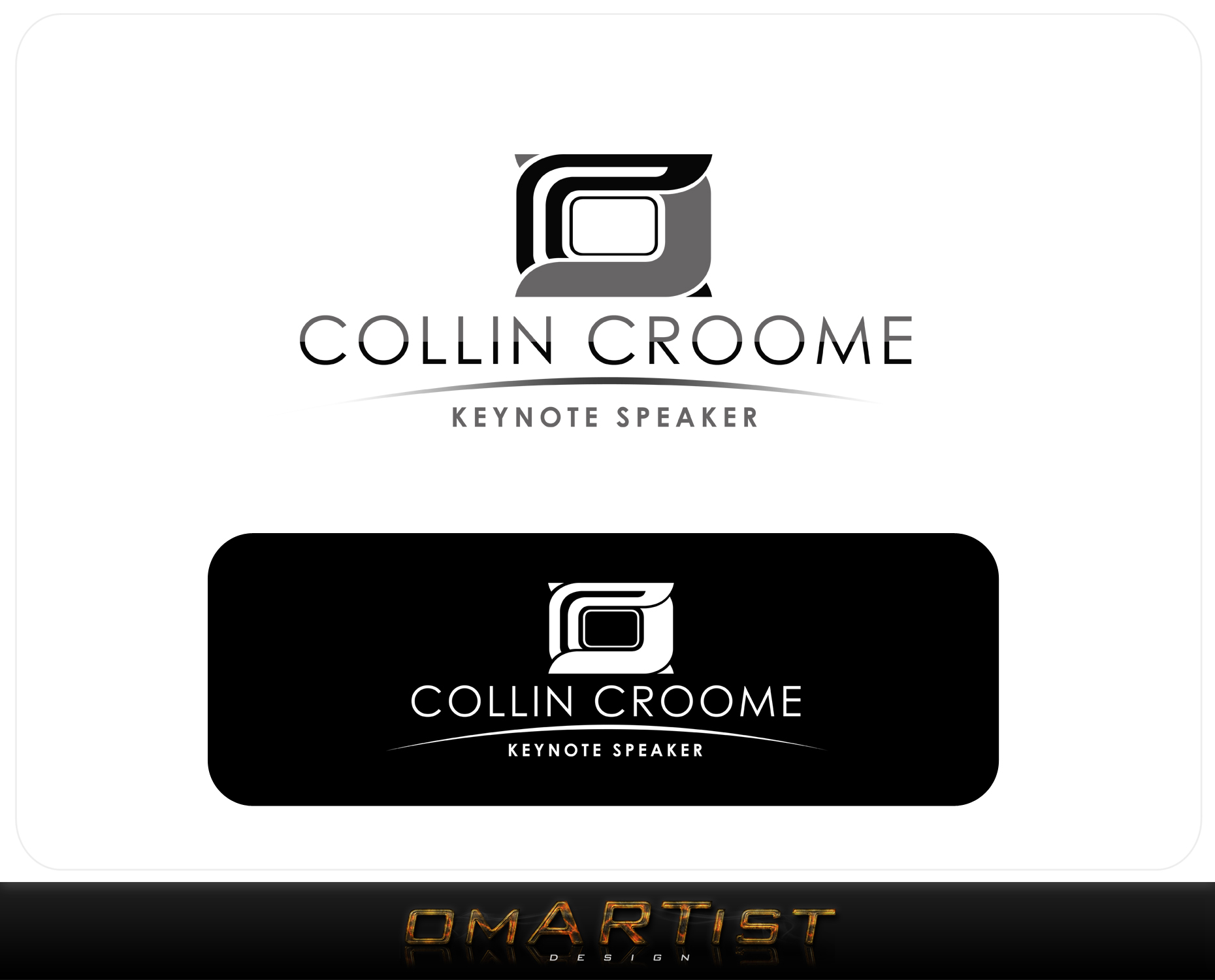 Logo Design by omARTist - Entry No. 258 in the Logo Design Contest Modern Logo Design for Collin Croome.