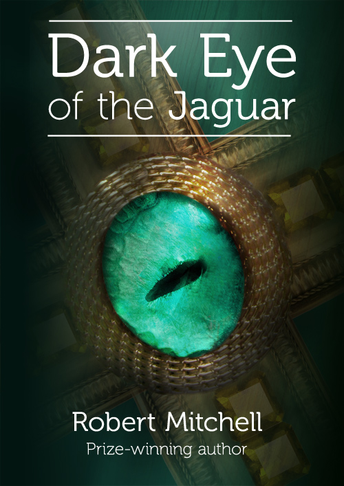 Book Cover Design by mungom - Entry No. 63 in the Book Cover Design Contest Imaginative Book Cover Design for Dark Eye of the Jaguar.