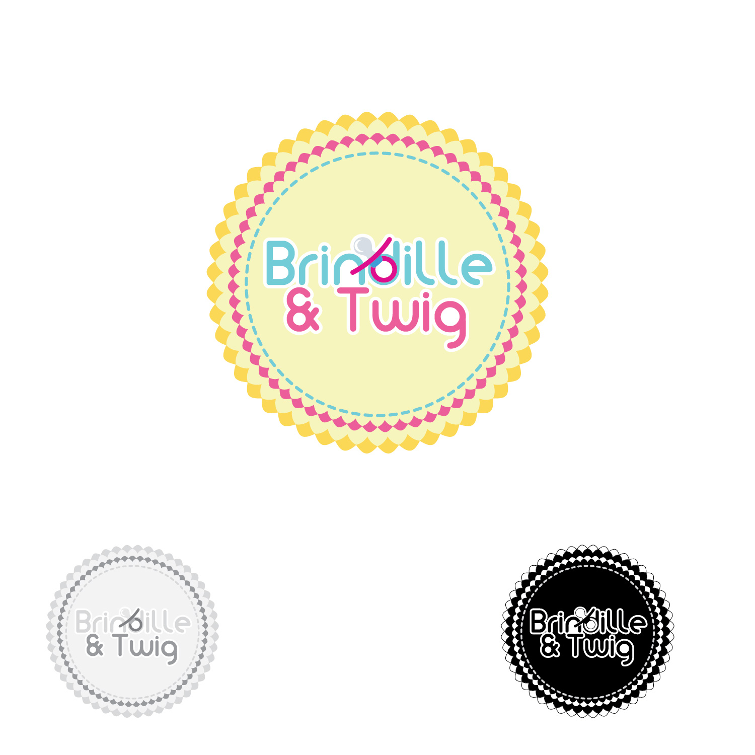 Logo Design by lagalag - Entry No. 16 in the Logo Design Contest Logo Design for Brindille & Twig.