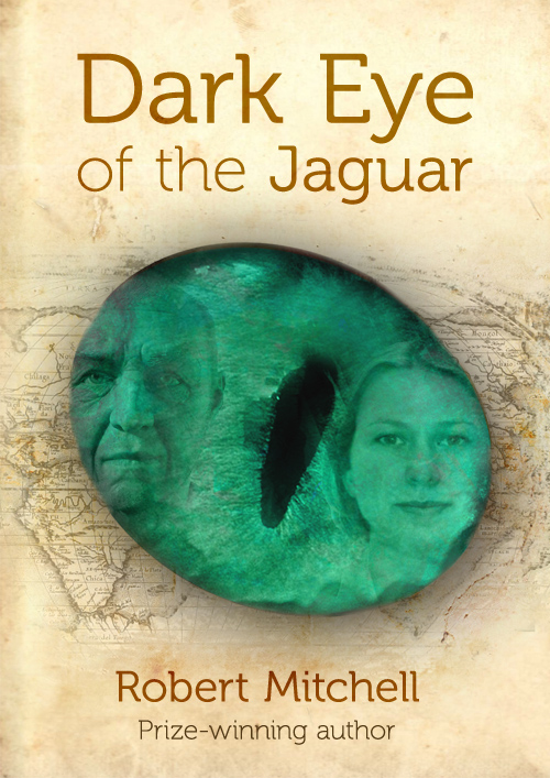 Book Cover Design by mungom - Entry No. 73 in the Book Cover Design Contest Imaginative Book Cover Design for Dark Eye of the Jaguar.