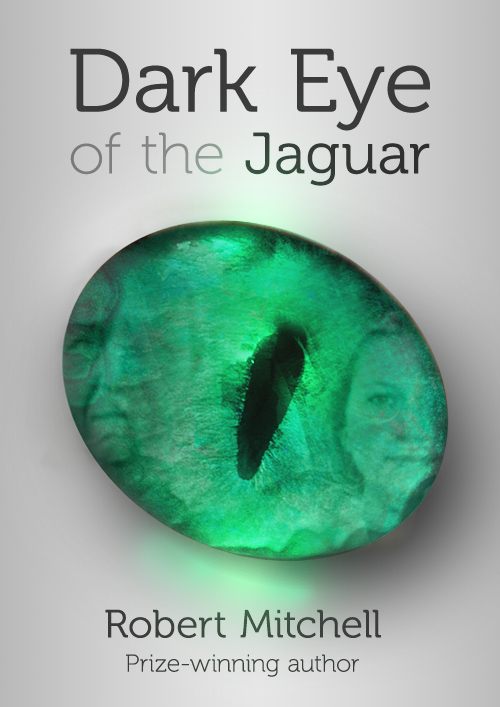 Book Cover Design by mungom - Entry No. 74 in the Book Cover Design Contest Imaginative Book Cover Design for Dark Eye of the Jaguar.