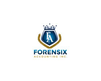Logo Design by designhouse - Entry No. 45 in the Logo Design Contest FORENSIX ACCOUNTING INC. Logo Design.