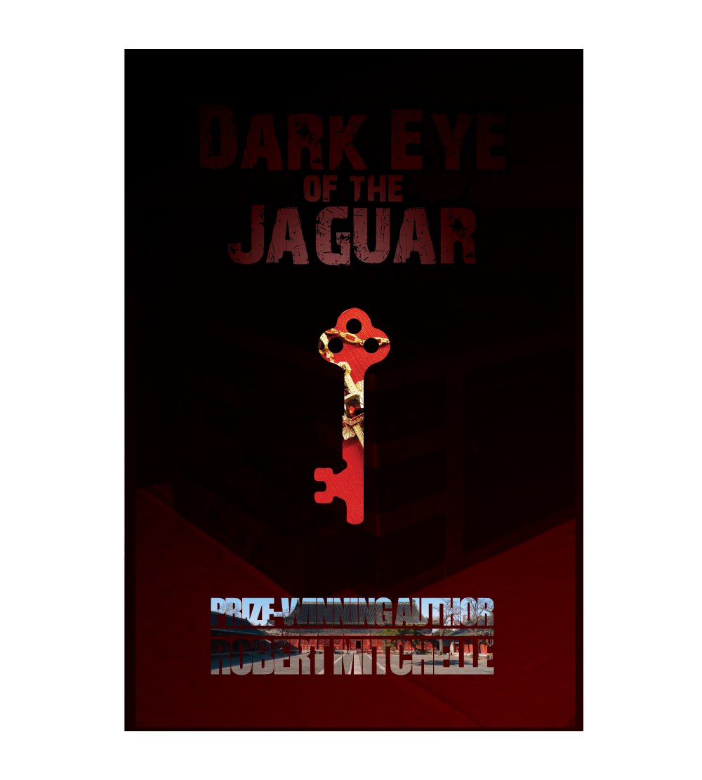 Book Cover Design by zesthar - Entry No. 76 in the Book Cover Design Contest Imaginative Book Cover Design for Dark Eye of the Jaguar.