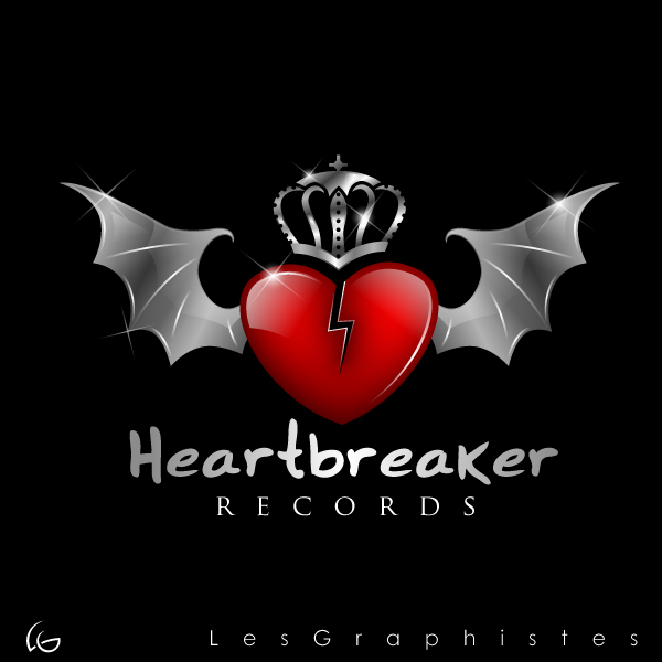 Logo Design by Les-Graphistes - Entry No. 12 in the Logo Design Contest Heartbreaker Records.