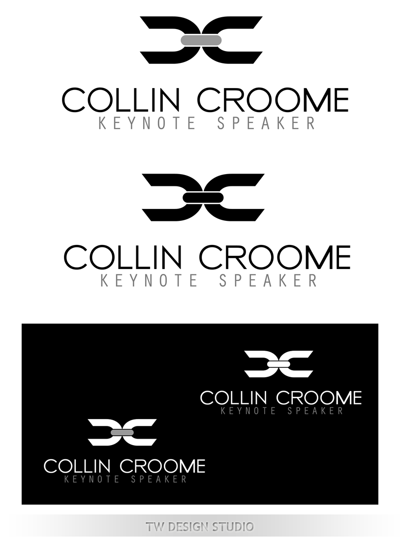 Logo Design by Private User - Entry No. 294 in the Logo Design Contest Modern Logo Design for Collin Croome.