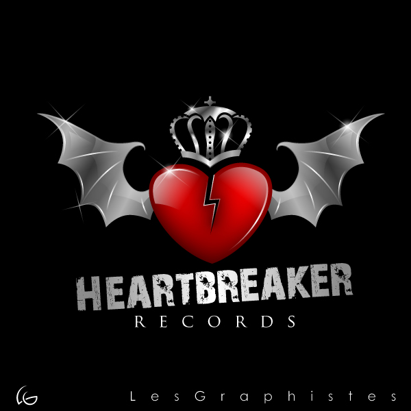 Logo Design by Les-Graphistes - Entry No. 13 in the Logo Design Contest Heartbreaker Records.