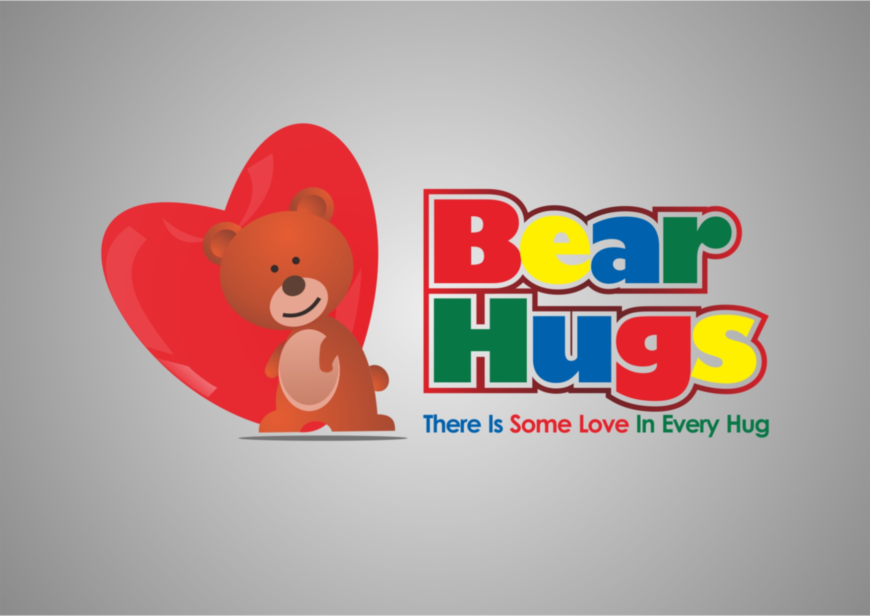 Logo Design by Private User - Entry No. 47 in the Logo Design Contest Inspiring Logo Design for BearHugs.
