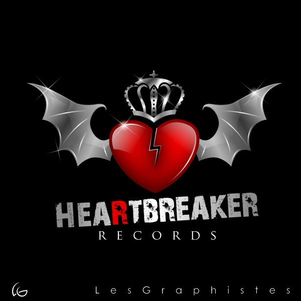 Logo Design by Les-Graphistes - Entry No. 14 in the Logo Design Contest Heartbreaker Records.