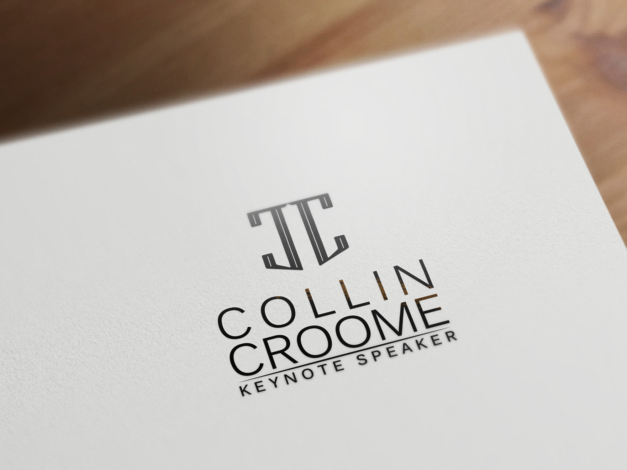 Logo Design by olii - Entry No. 303 in the Logo Design Contest Modern Logo Design for Collin Croome.