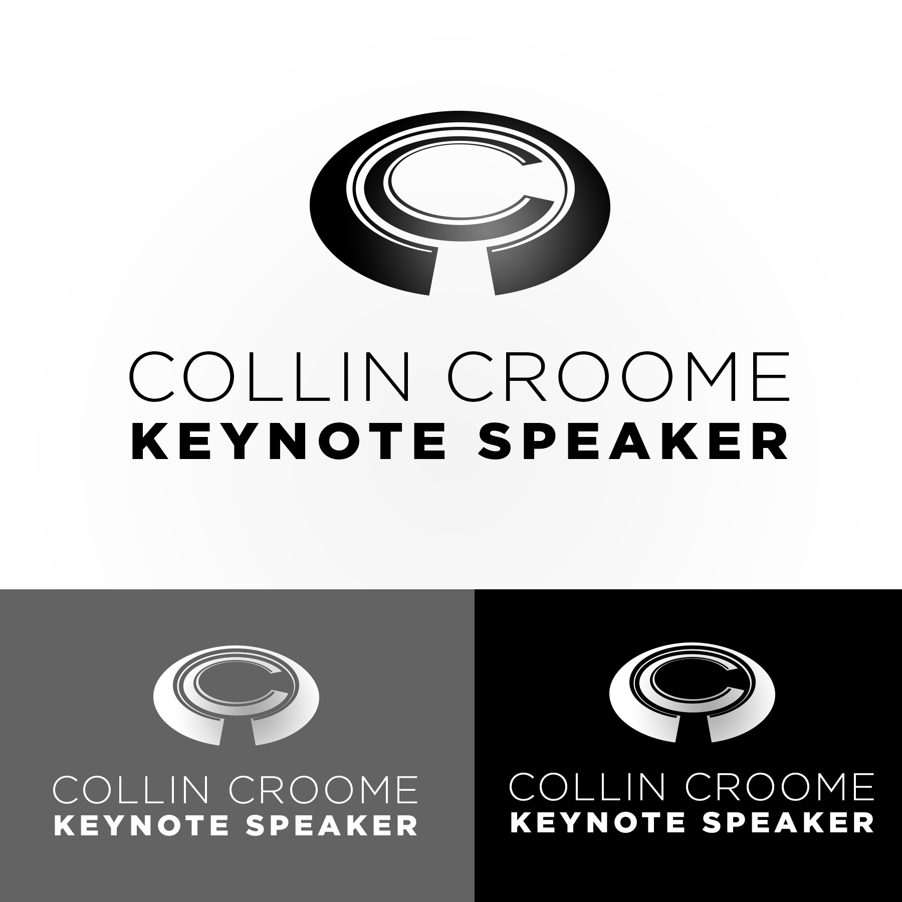 Logo Design by Lemuel Arvin Tanzo - Entry No. 307 in the Logo Design Contest Modern Logo Design for Collin Croome.