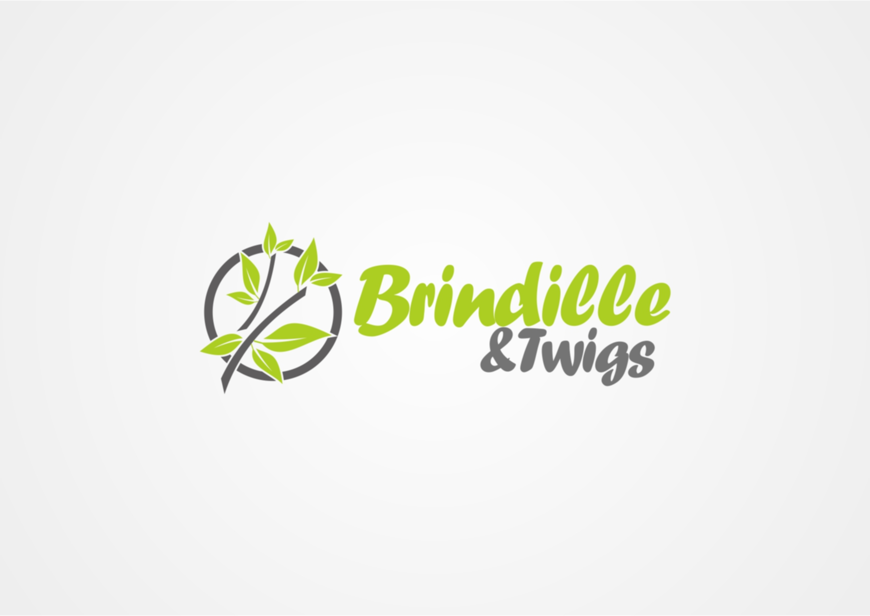 Logo Design by Private User - Entry No. 20 in the Logo Design Contest Logo Design for Brindille & Twig.