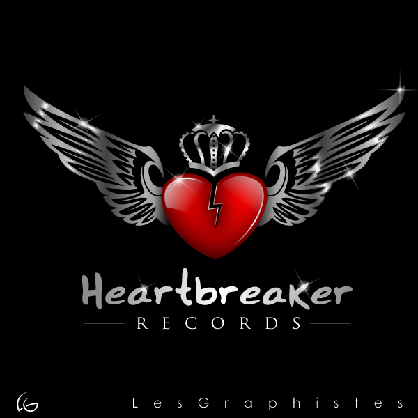 Logo Design by Les-Graphistes - Entry No. 15 in the Logo Design Contest Heartbreaker Records.