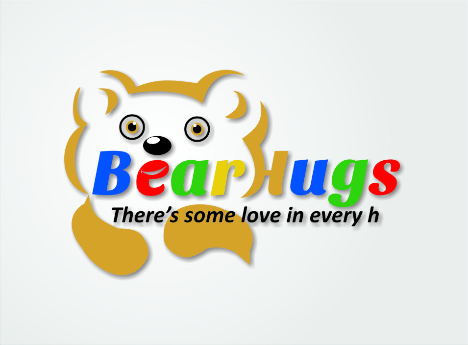 Logo Design by Ngepet_art - Entry No. 49 in the Logo Design Contest Inspiring Logo Design for BearHugs.