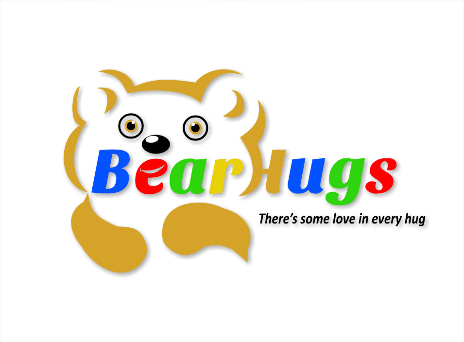 Logo Design by RasYa Muhammad Athaya - Entry No. 50 in the Logo Design Contest Inspiring Logo Design for BearHugs.