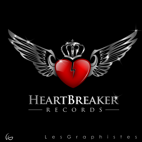 Logo Design by Les-Graphistes - Entry No. 16 in the Logo Design Contest Heartbreaker Records.