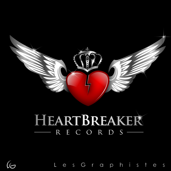 Logo Design by Les-Graphistes - Entry No. 17 in the Logo Design Contest Heartbreaker Records.