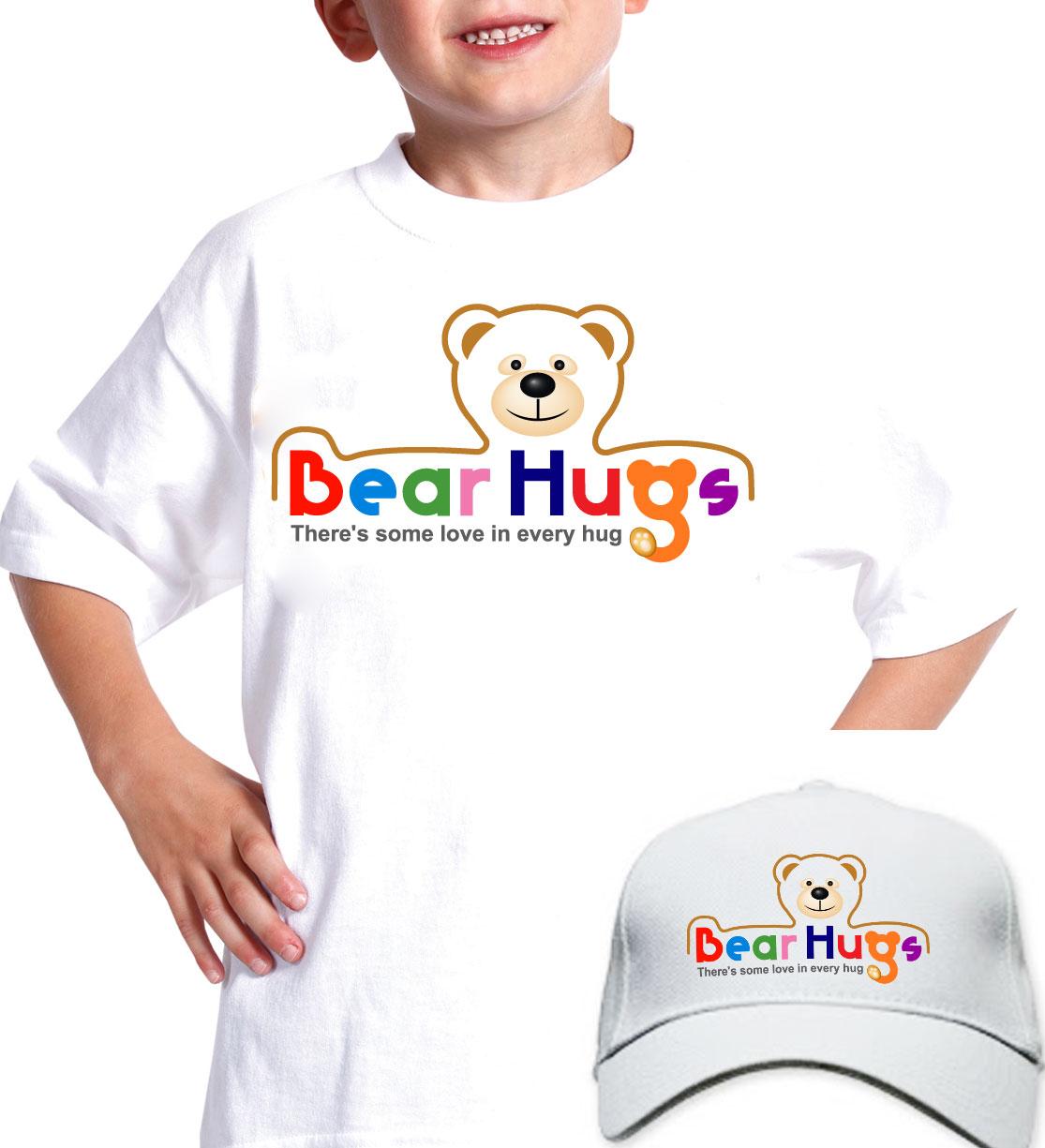 Logo Design by lagalag - Entry No. 51 in the Logo Design Contest Inspiring Logo Design for BearHugs.