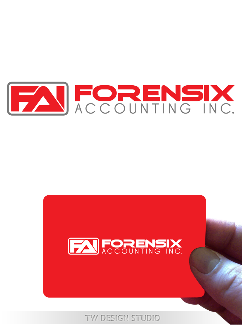 Logo Design by Private User - Entry No. 57 in the Logo Design Contest FORENSIX ACCOUNTING INC. Logo Design.