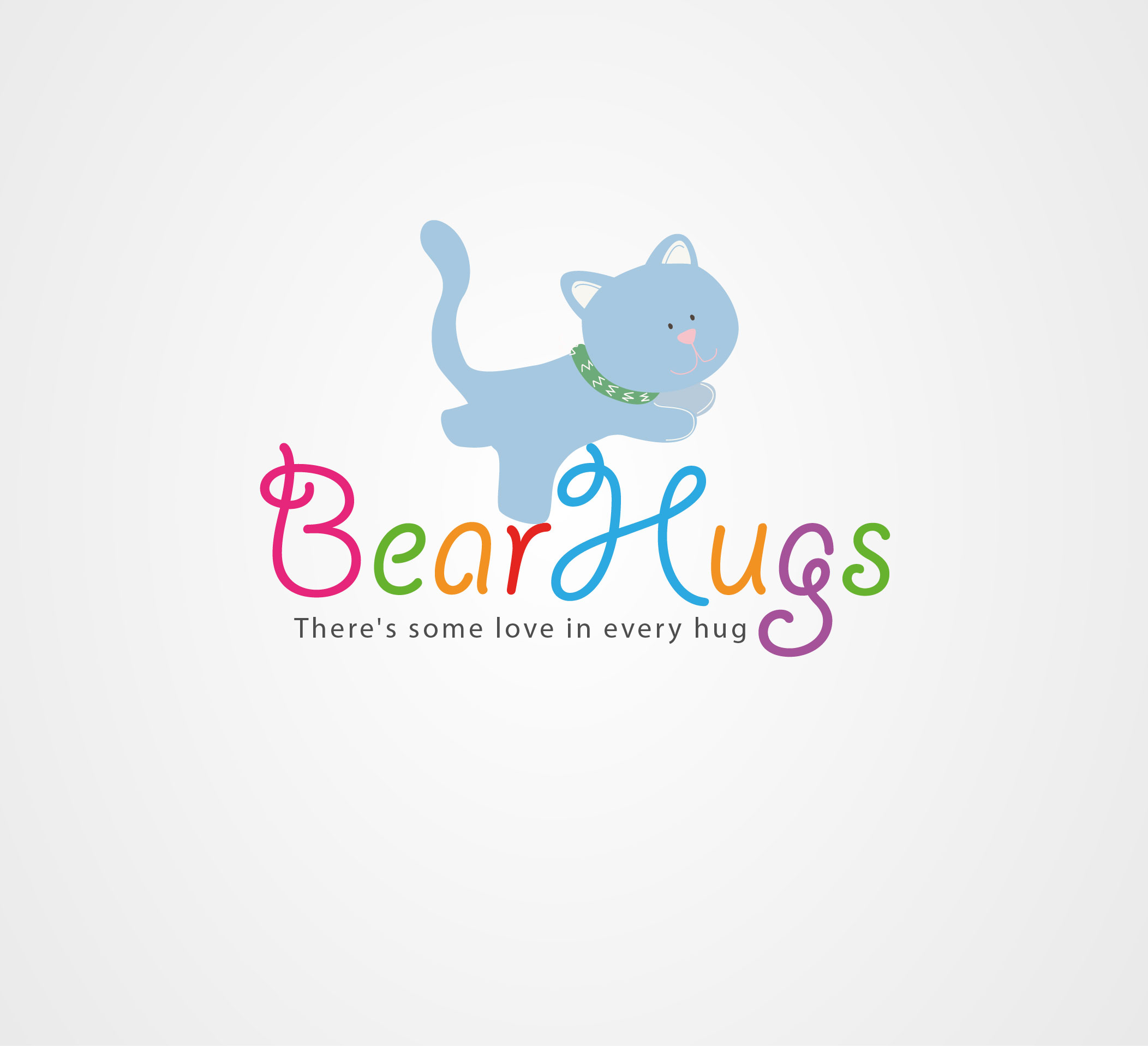 Logo Design by Darina Dimitrova - Entry No. 53 in the Logo Design Contest Inspiring Logo Design for BearHugs.