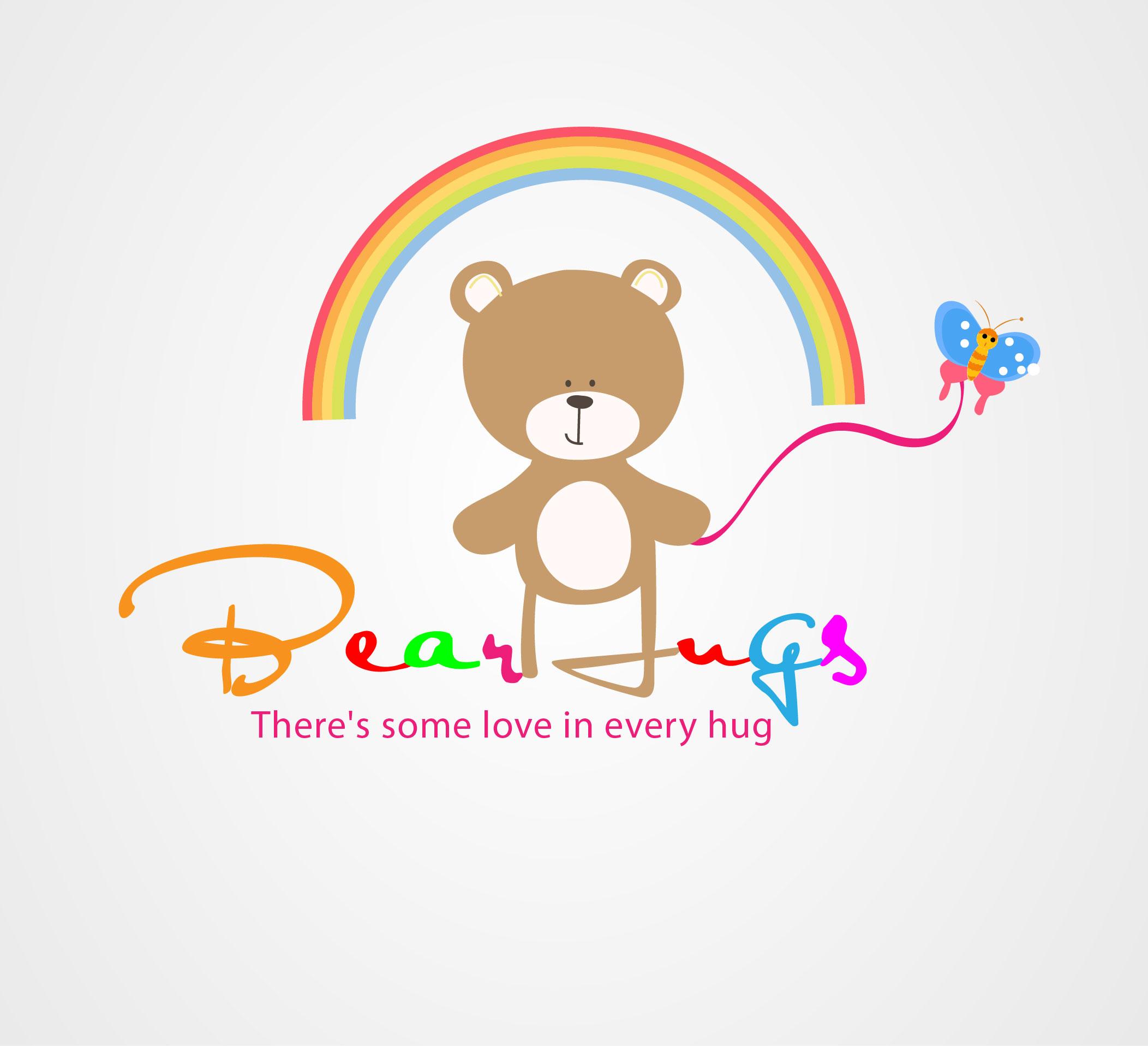 Logo Design by Darina Dimitrova - Entry No. 54 in the Logo Design Contest Inspiring Logo Design for BearHugs.