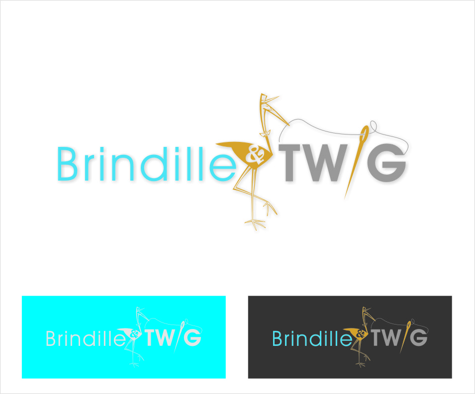 Logo Design by Ngepet_art - Entry No. 27 in the Logo Design Contest Logo Design for Brindille & Twig.